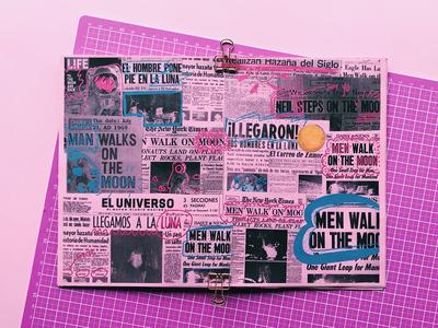 Fanzine de Neil Amstrong