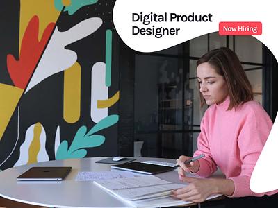 We're hiring! Digital Product Designer hiring product designer designer kansas city