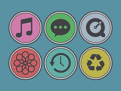 NOYO icon replacement iconset preview flat yosemite simple noyo osx 10.10 mac itunes