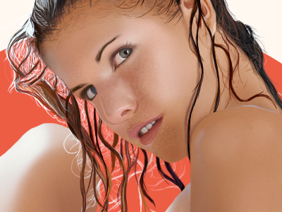 Iveta Vale mature content iveta vale digitalart nude painting skin