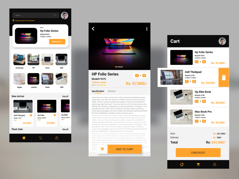 E-COMMERCE APP android uidesign ux design app design e-commerce design e-commerce app clean ui clean simple design ios app design ios mobile app mobile ui ux design ui design uiux ui