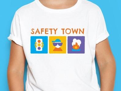 Safety Town Shirt color shirt design illustration