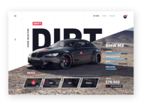 Car concept website