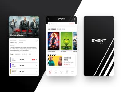 Event movie app