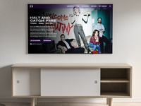 Daily UI :: 025 - TV App