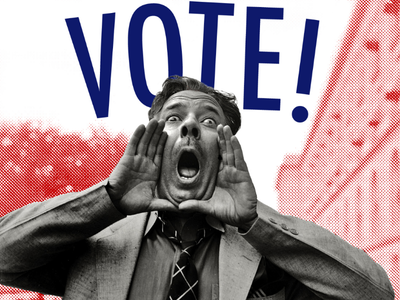 VOTE! vote out xenophobia vote out sexism vote out racism election primaries vote