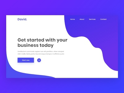 landing page design in adobe xd web template illustration landing page landing page concept ui design ui ux design website design landing page ui adobe xd templates adobe xd landing page
