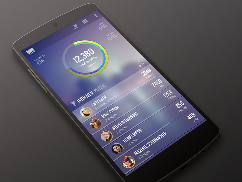 ACTV android app sport activity social workout