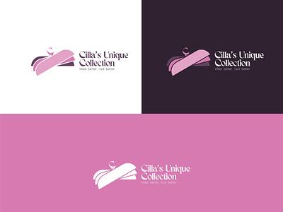 Cilla's Unique Collection/ Logo design graphic design branding logo