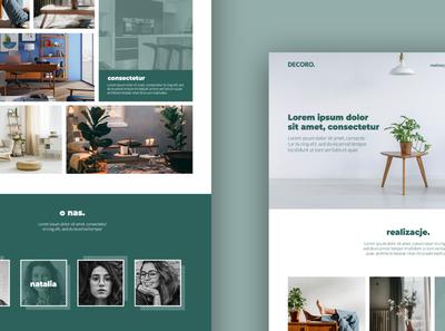 dcoro website websites webdesign website graphicdesign ui minimal design