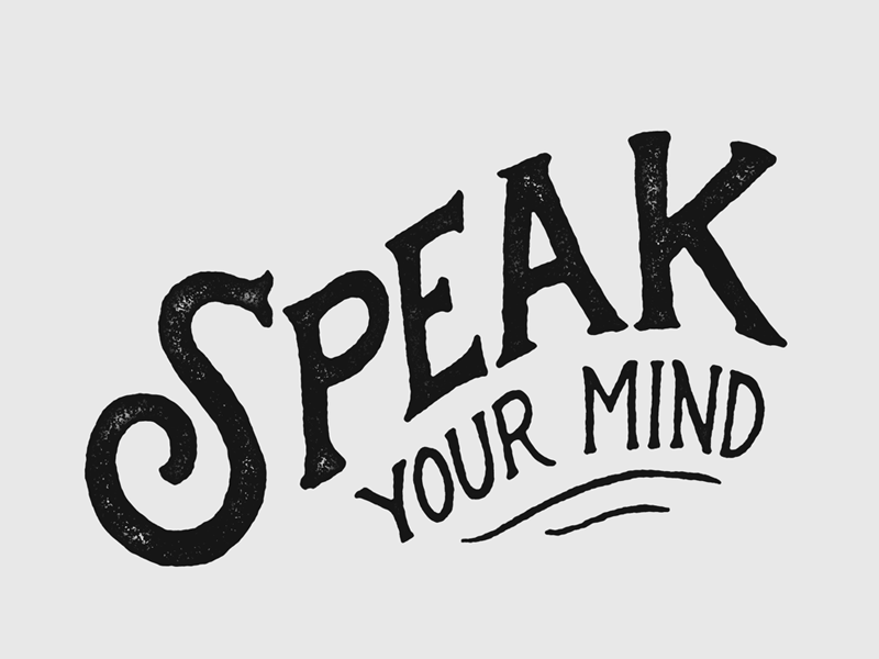 Image result for how to speak your mind image