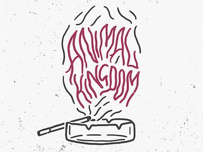 Animal Kingdom animal animal kingdom timelapse video youtube texture illustration lettering typography type