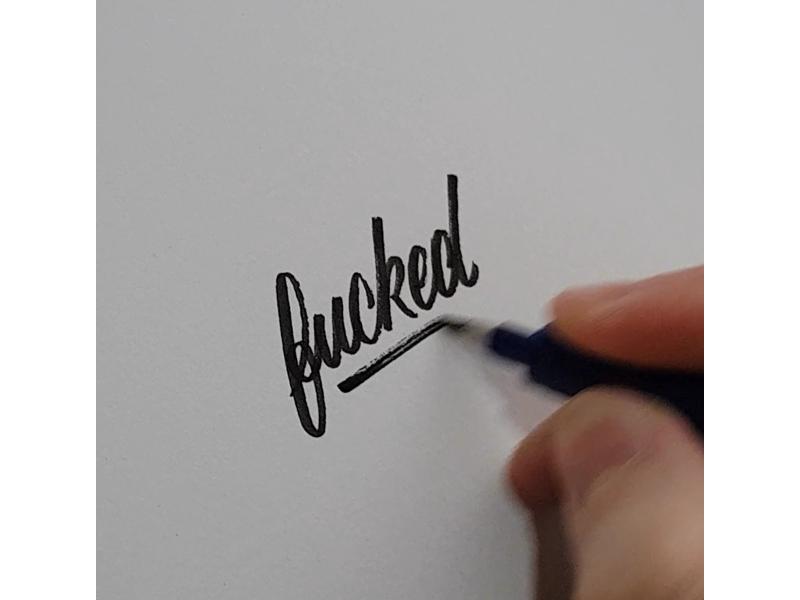 Monday... black blackwork traditional tattoo texture vintage hand lettering lettering tattoo brush script script typography type