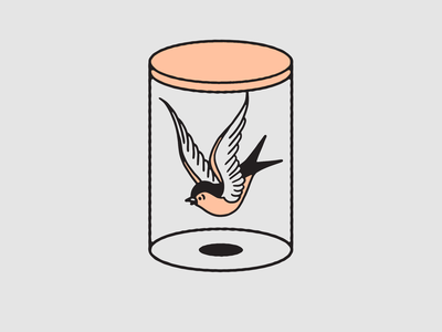 Sparrow In A Jar