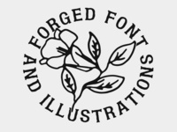 FORGED Font