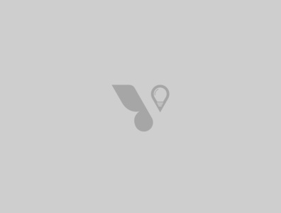 Unique V Logo typography vector logo design branding