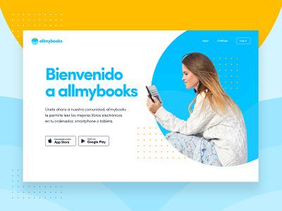 Allmybooks web ui design uidesign