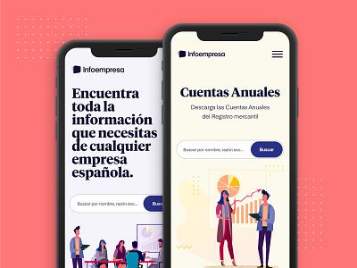 Infoempresa Mobile uidesign web ux ui design