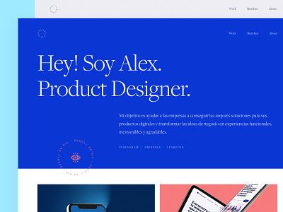 Portfolio design website ui design ux design landing branding web ux ui uidesign design