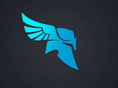 Mercury Logo Development greek god wings logo helmet mercury