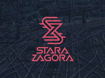 Stara Zagora stara zagora sz music train tracks band logo logo
