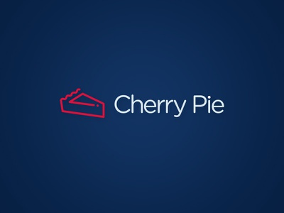 Cherry Pie gotham cherry cherry pie icon logo