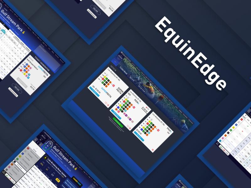 Horse Racing - Betting Dashboard mobile app analytics dashboard