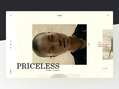 Ciroz - Fashion Store colors style bold website landing design uiux ui fashion