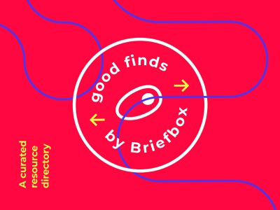 Good Finds by Briefbox learn briefbox stamp design education mark stamp badge fun brand