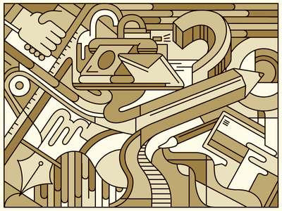 The Creative Process creative abstract process lifework pattern fun