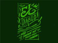 El Diablo - Green Chilli Sauce