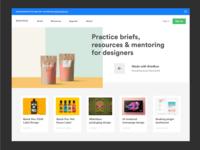 Briefbox homepage exploration