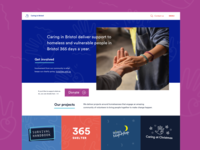 Caring In Bristol landing page