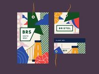 BRS luggage tag set