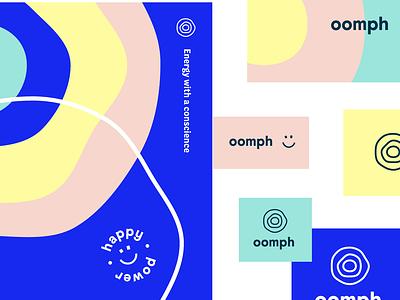 oomph brand exploration energy illustration pattern design pattern design bristol branding brand identity brand agency brand design