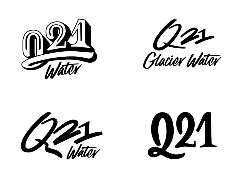 Q21 custom logotypes vintage script handdrawn handlettering custom design typography brand lettering logo