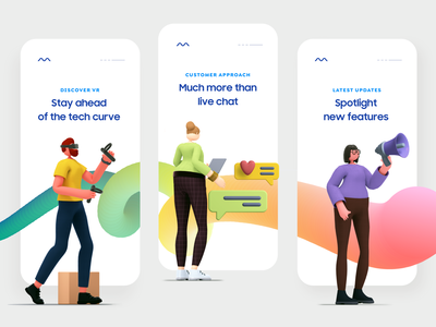 Onboarding Screen Design ux ui web product design flat ui illustration minimal abstract 2d vector 3d app ui mobile ui mobile typography onboarding screens onboarding ui onboarding design app