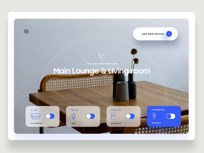 Smart Home Web/ Dashboard Design smart home minimalism admin dashboard admin panel admin dashboard design dashboard ui dashboad web app app mobile landing animation ui design typography product design illustration design ui minimal