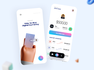 Crypto Trading App task manager task debit card debit creditcard finance credit coin cryptocurrency currency crypto minimal app mobile app design mobile app mobile app design app ux