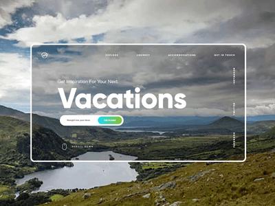 Travel / Vacations Ui Design