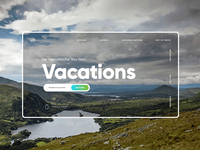 Travel / Vacations Ui Design
