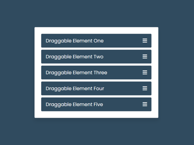 Drag & Drop List or Draggable List using HTML CSS & JavaScript draggable list in javascript javascript drag and drop drag and drop in javascript
