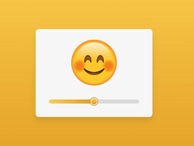 Custom Emoji Range Slider using HTML CSS & JavaScript javascript range slider range slider