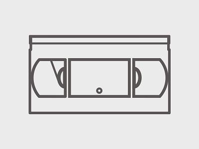 VHS Icon #1 logo logo-design illustrations design icons