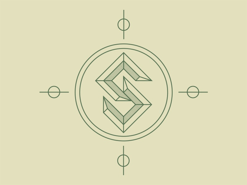 Sea Crest Logo WIP logo logo-design illustrations design