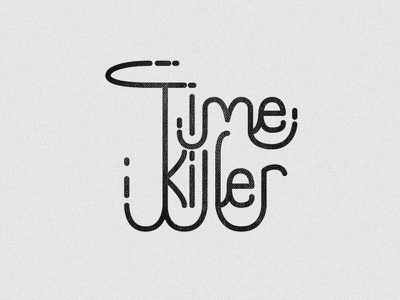 Fun Type hand-lettering hand-drawn-logo logo mock-ups logo-design illustrations