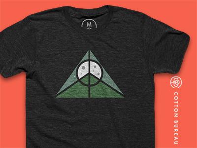 Peace Rising Cotton Bureau Tee logo logo-design illustrations design t-shirts icons