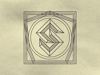 Detailed Sea Crest Mark WIP logo logo-design illustrations design badges marks