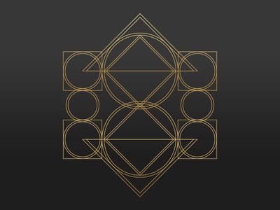 Geometric Art WIP