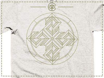 Northern Compass Cotton Bureau Tee